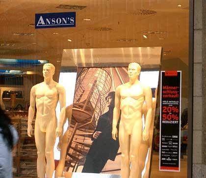 Nur für Herren: Anson's-Filiale in Hamburg