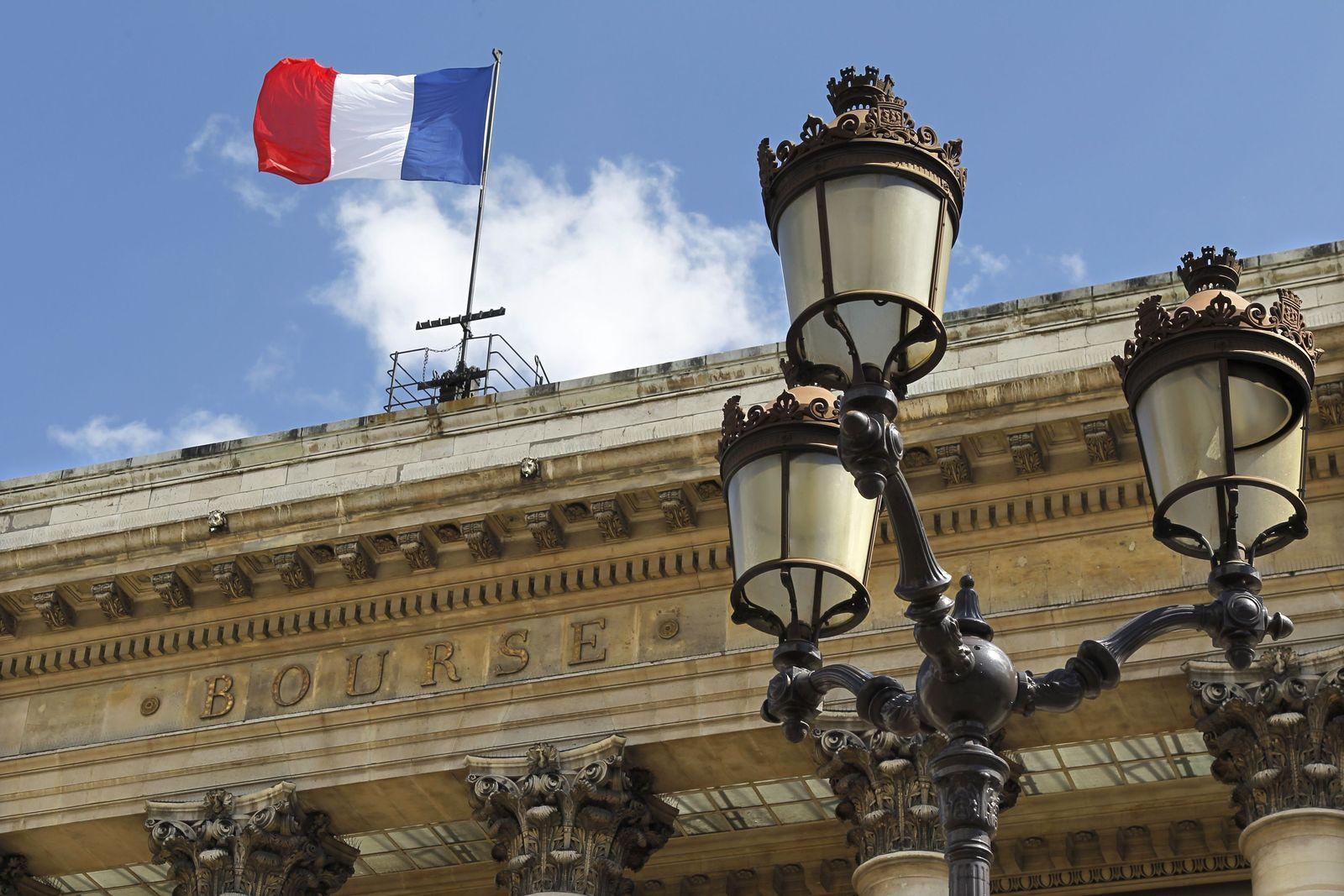 Frankreich / Börse Paris / Flagge