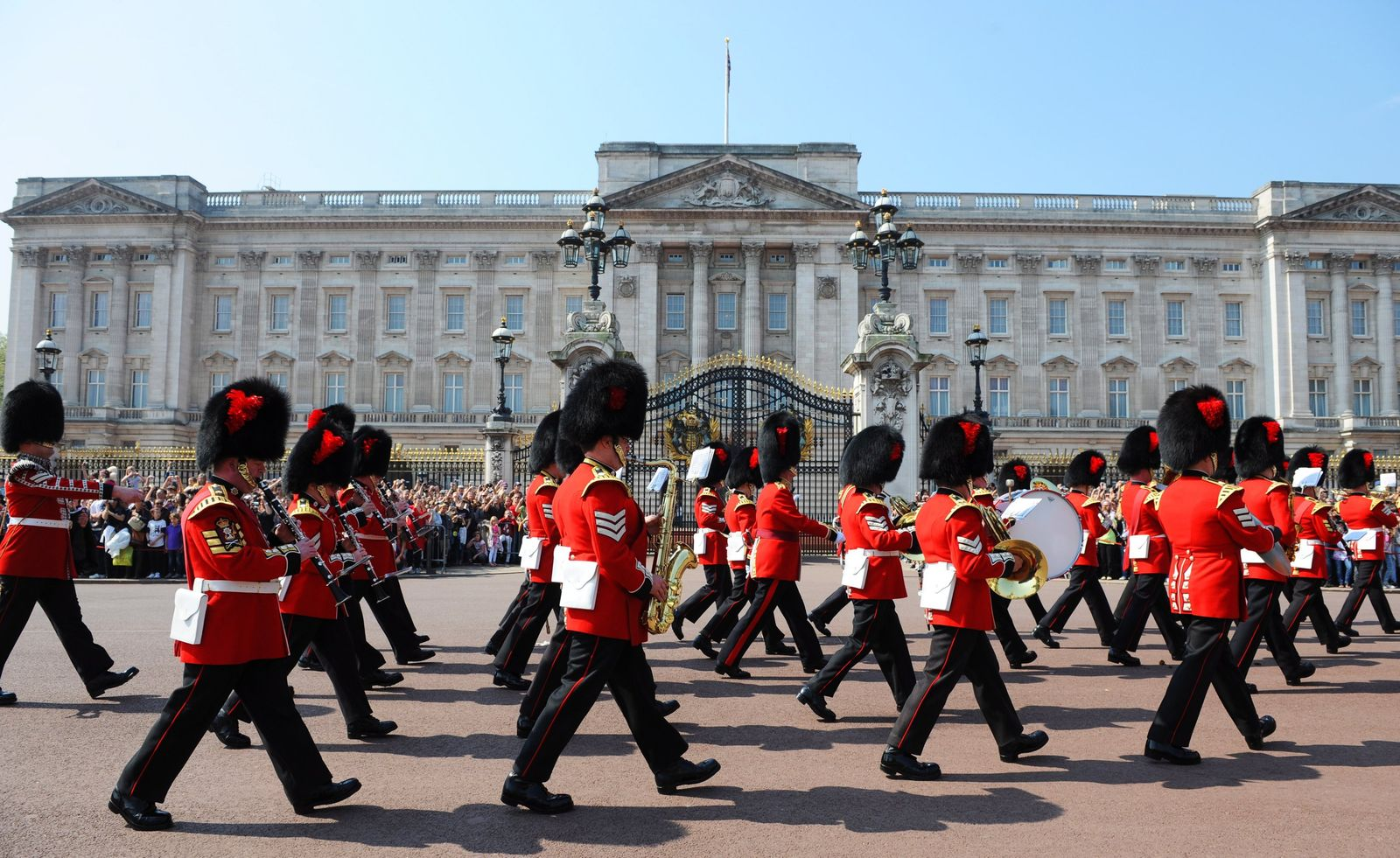 Hochzeit Kate William / Buckingham Palace