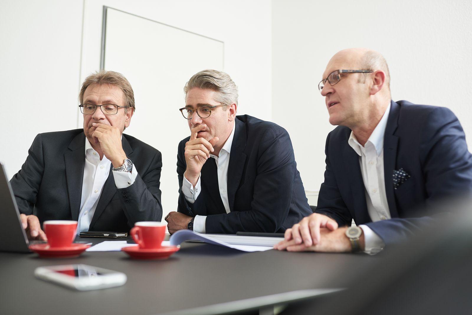Reiner Boje, Dominic Späth, Dr. Eckhard Neudeck / Späth + Boje
