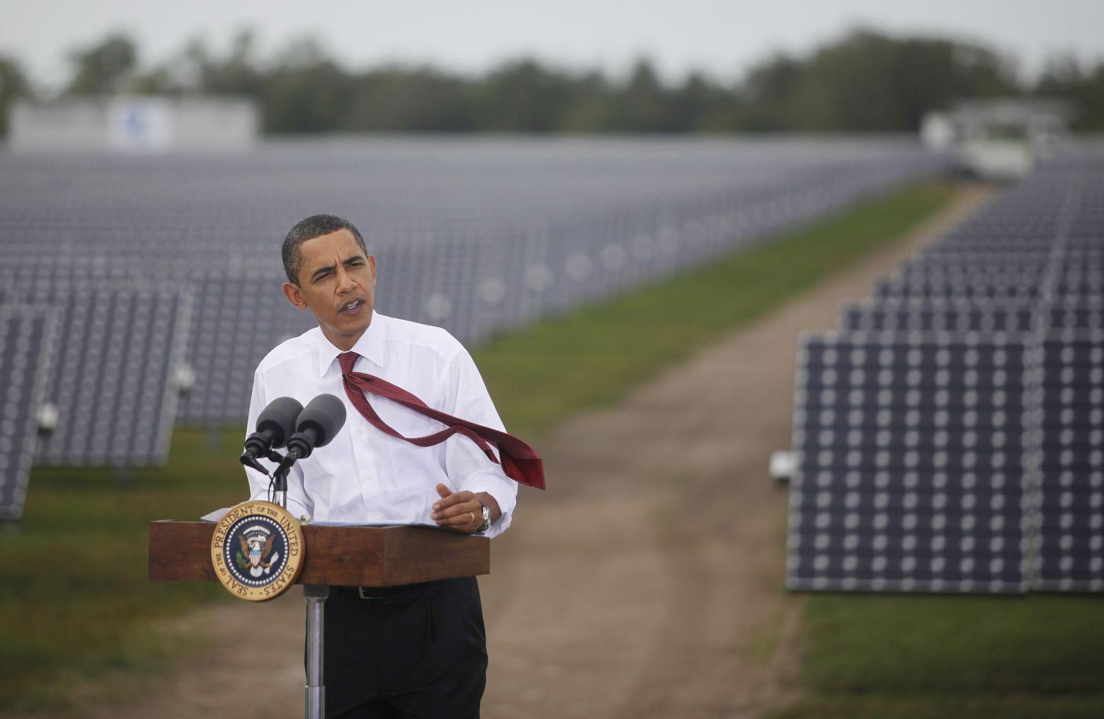 Obama/ Solar-Anlage