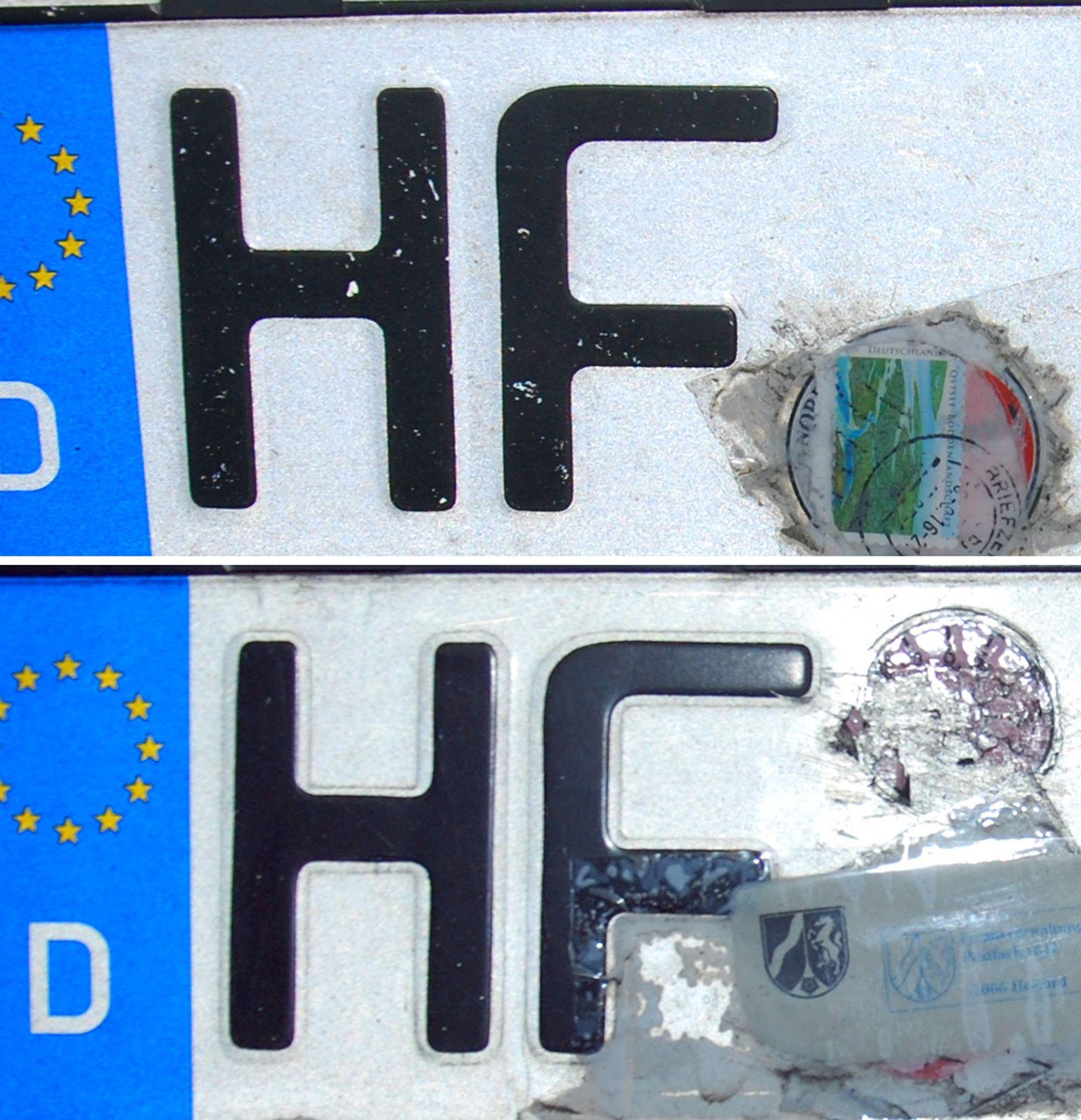 Briefmarke statt TÜV-Siegel