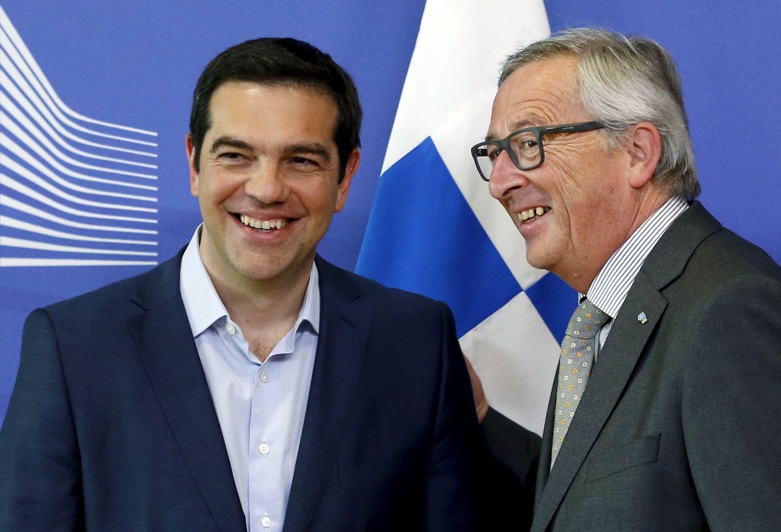 Alexis Tsipras/Jean-Claude Juncker