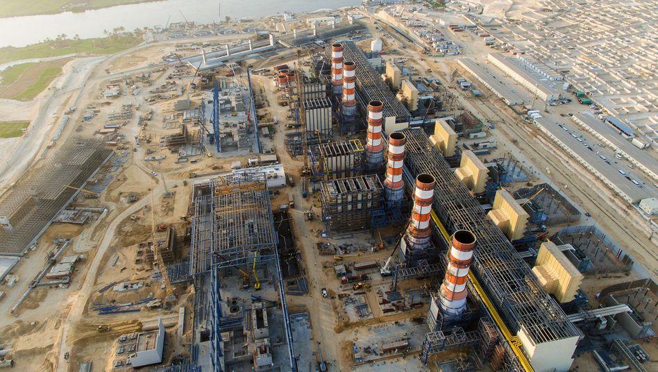 Siemens-Kraftwerke in Ägypten: Hier hat der Industriekonzern den Auftrag bereits bekommen