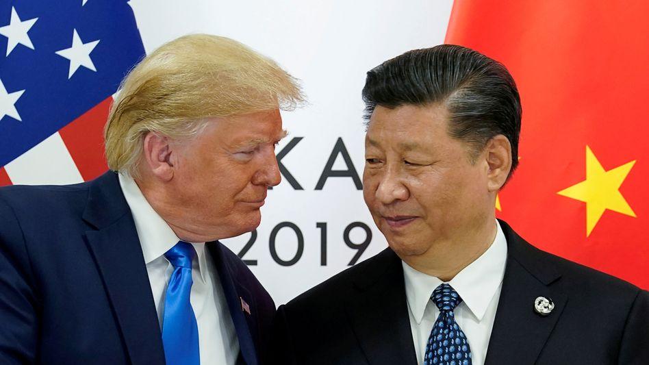 Erneutes Treffen wegen Hongkong? US-Präsident Donald Trump und Chinas Präsident Xi Jinping