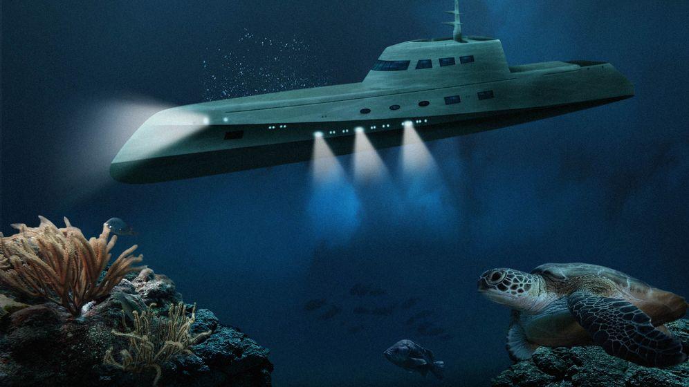 """Luxus-U-Boote: Abtauchen mit """"Lovers Deep"""" und """"Migaloo"""""""