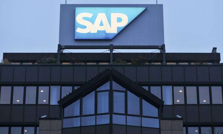 SAP-Zentrale in Walldorf: Die Stadt ist eine der wohlhabendsten der Region