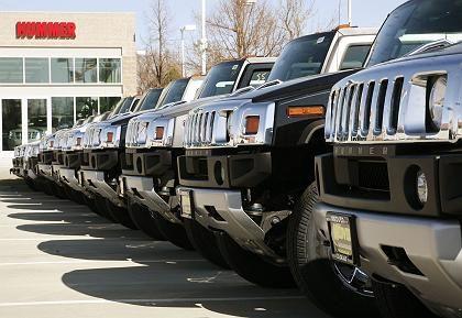 Auf Halde: Hummer von GM
