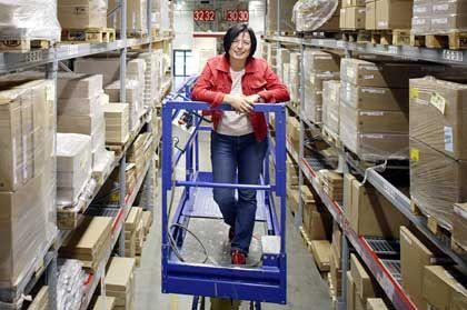 Karriere zum Selbstbauen: Susanne Gebhardt, die künftig die Personalentwicklung des Schweizer Ikea-Armes leitet, verinnerlichte die Kerntugenden des Schweden-Konzerns: Verantwortung und Eigeninitiative.