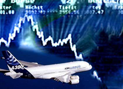 Problemfall Airbus:Der EADS-Gewinn bricht um 90 Prozent ein