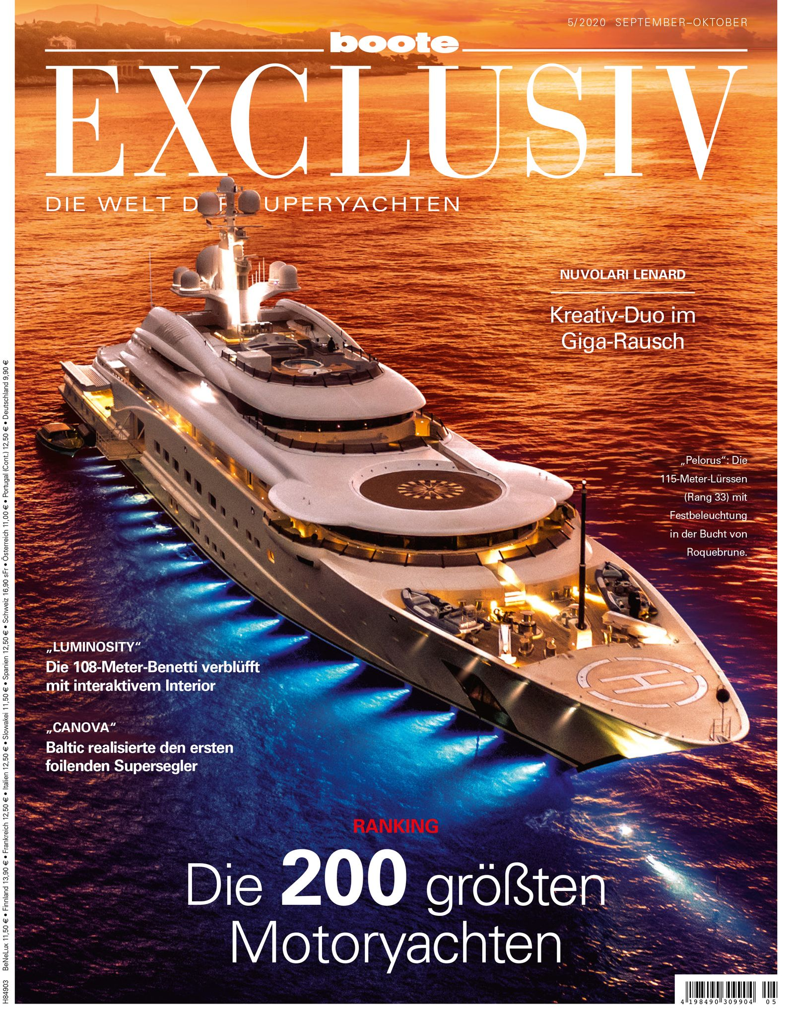 COVER Boote exclusiv 5/2020