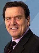 Vermittler: Kanzler Gerhard Schröder