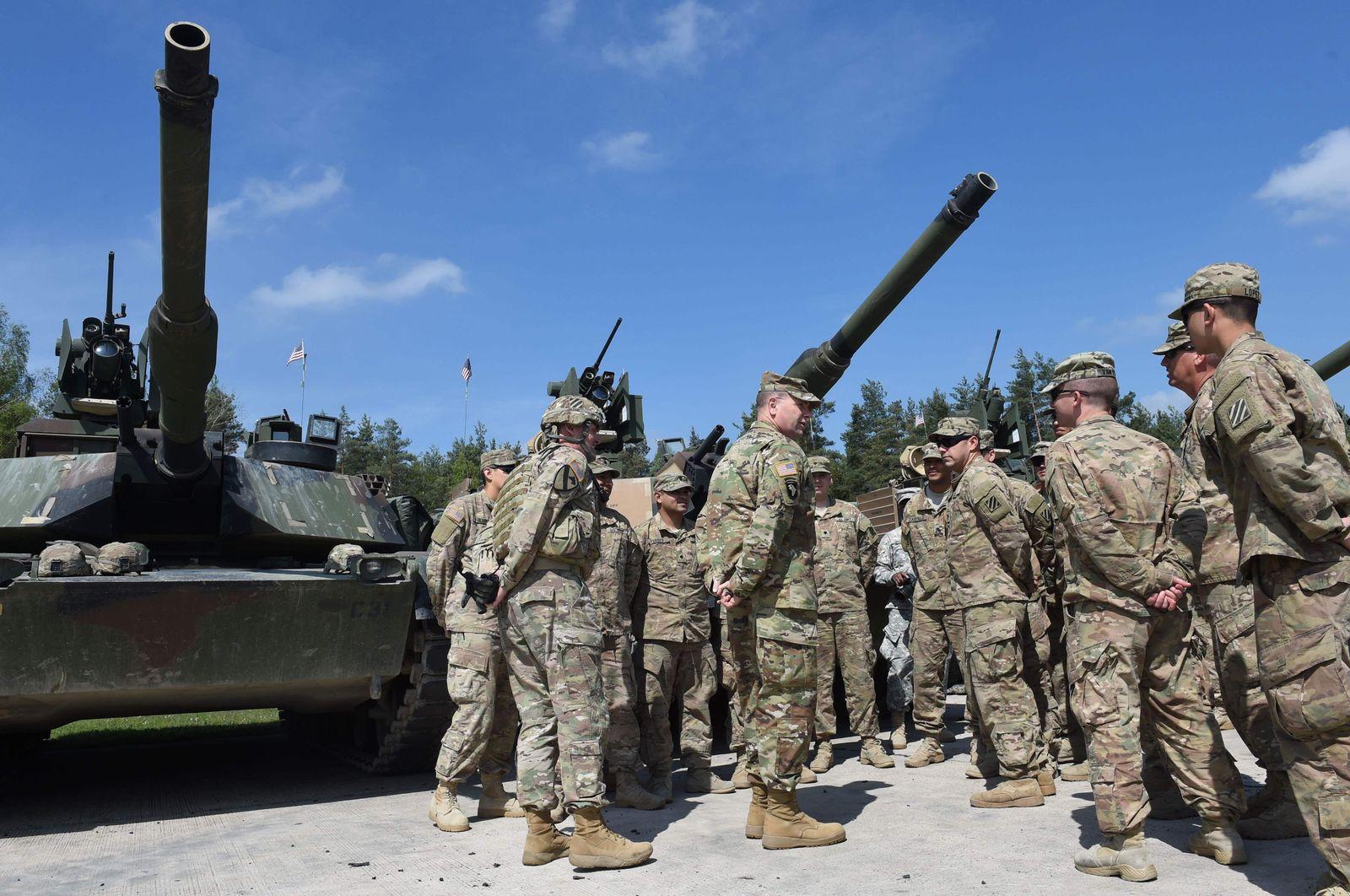 US-Soldaten bei Übung in Grafenwöhr