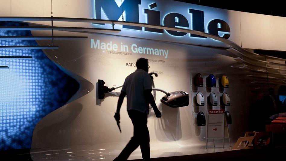 Miele: Gemeinsam mit BMW, Stihl, Share Now und Free Now unter den Top 10 der in Deutschland relevanten Marken