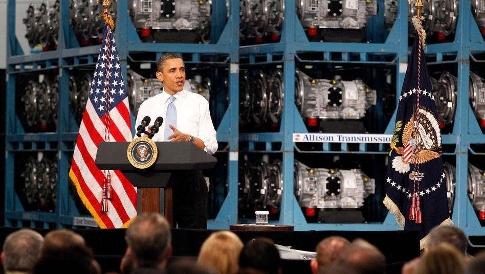 Obama lobt Allison Transmissions: Der Getriebehersteller stellt seit Monaten neue Mitarbeiter ein