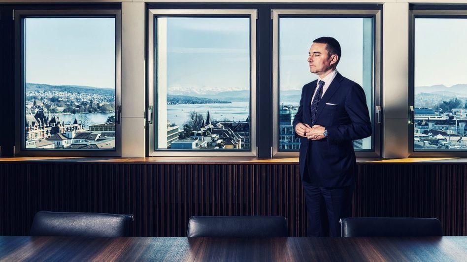 Große Showbühne: Lars Windhorst versteht es, sich in Szene zu setzen. Sein Hauptquartier hat er an exponierter Lage in Zürich, weitere Büros in London und Berlin.