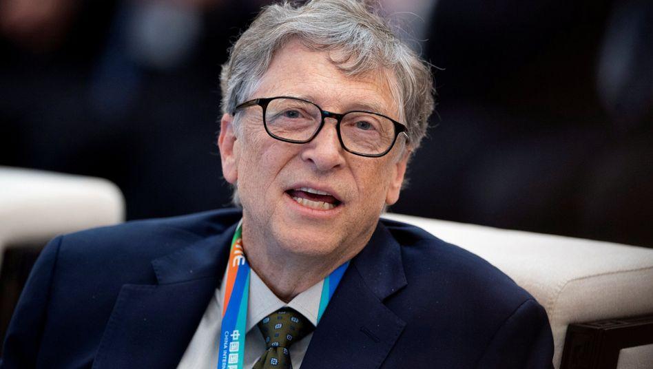 Microsoft-Gründer und Philanthrop Bill Gates