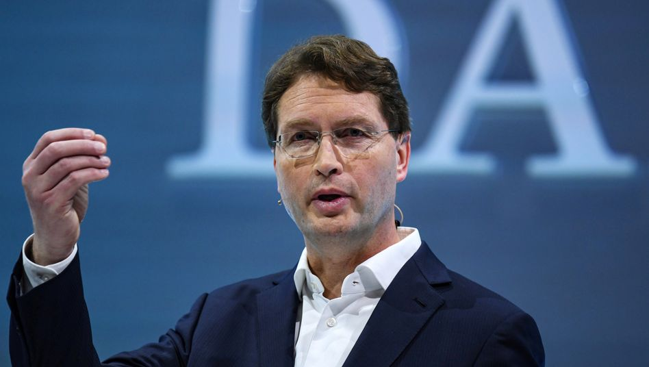 """Daimler-Chef Ola Källenius: """"Personalabbau nicht mit dem Rasenmäher"""""""