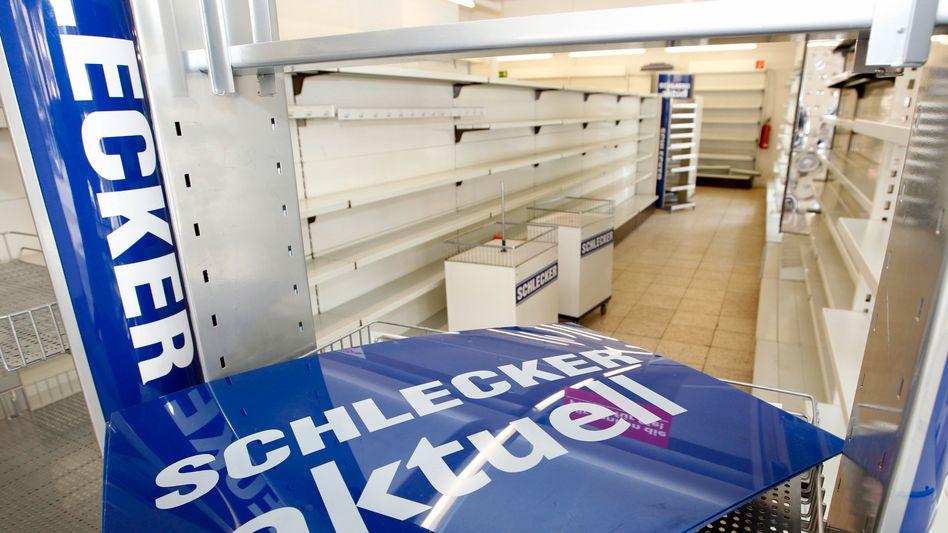 Ende einer Schlecker-Filiale: Jetzt auch die Tochtergesellschaften in Spanien und Portugal verkauft