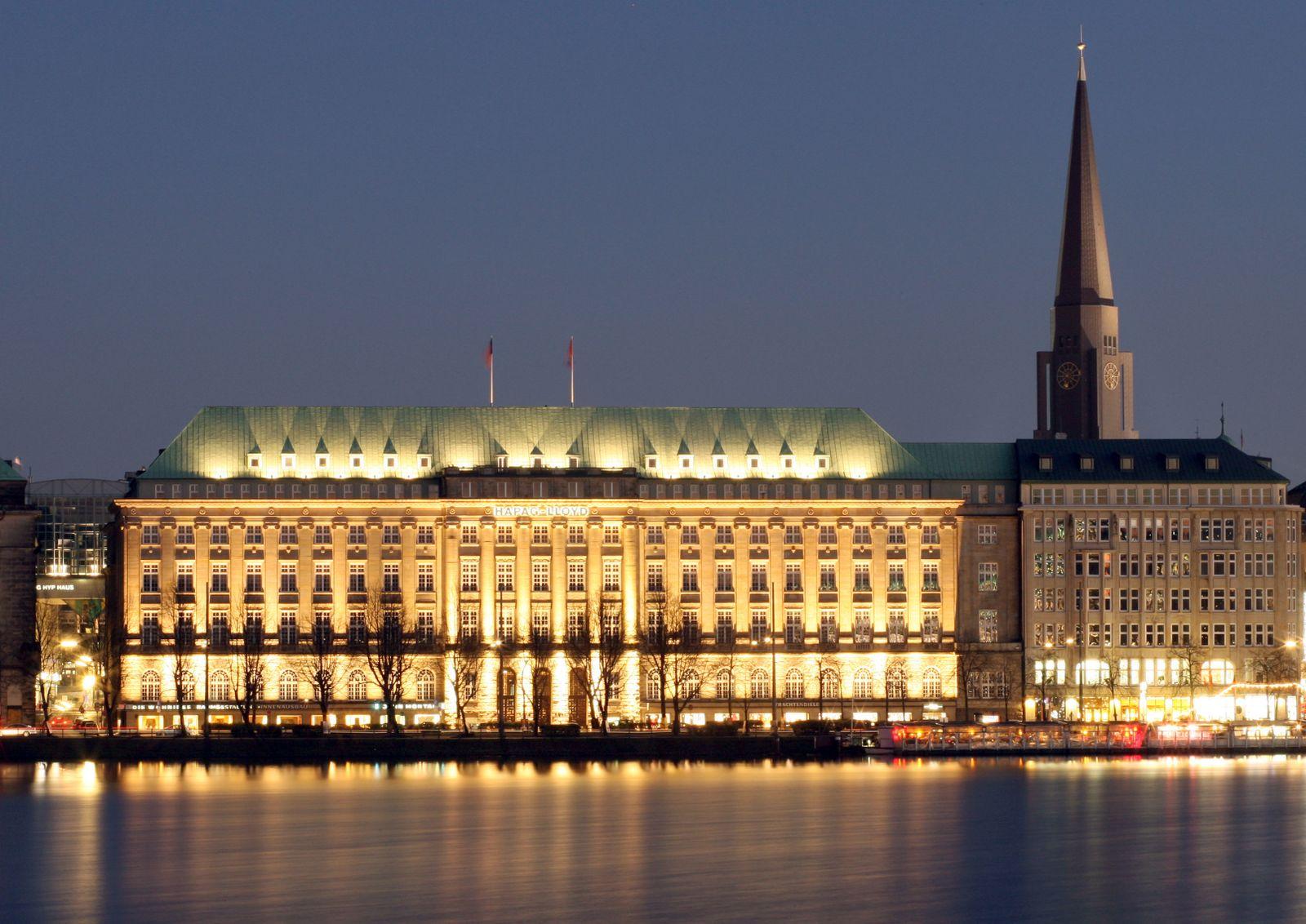 Hapag-Lloyd-Stammsitz in Hamburg