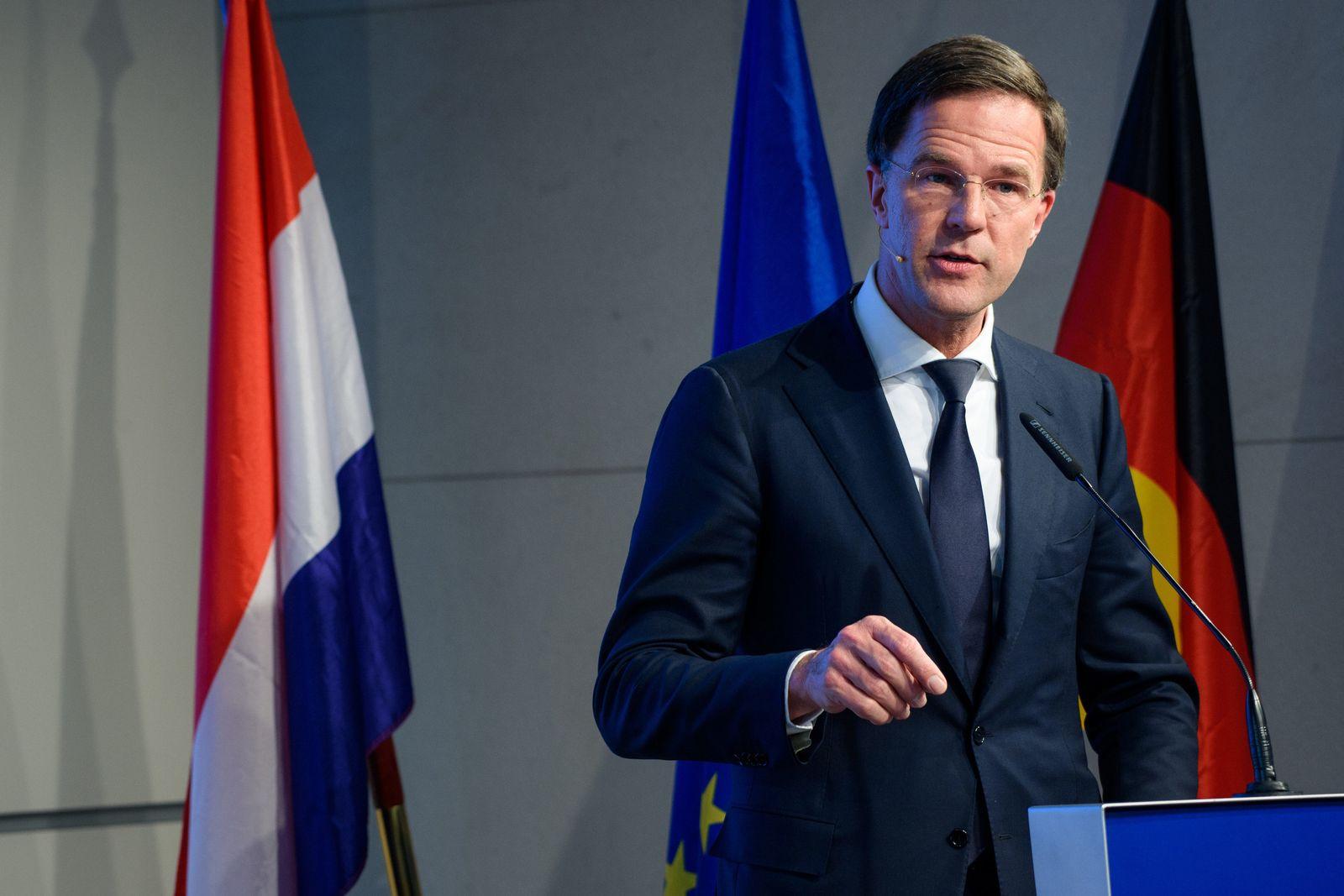 Mark Rutte/ Europa/ Niederlande