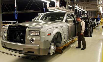 Produktion: Ja doch, es gibt inzwischen ein Fließband bei Rolls-Royce, aber wen stört das?