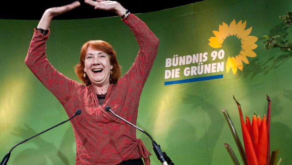 Grünen-Spitzenkandidatin Linnert: Die Grünen landen in Bremen auf Platz 2