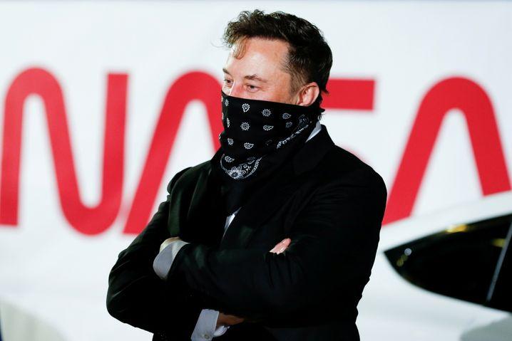 All for me: Tesla-Chef Elon Musk ist begeisterter Weltraum-Fan