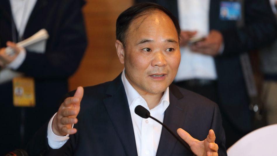 Ist vom Wert weiterer Kooperationen überzeugt: Geely-chef und Daimler-Großaktionäre Li Shufu