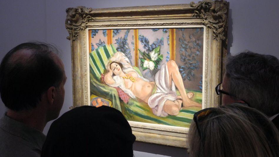 """""""Odalisque couchee aux magnolias"""" ist nun das teuerste Gemälde von Henri Matisse"""