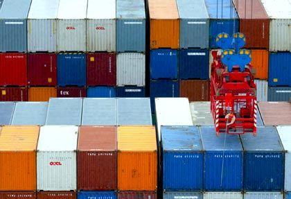 Hamburger Hafen: Die deutschen Ausfuhren sollen 2010 um 5 Prozent steigen
