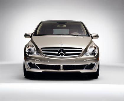 Mix aus Kombi und Van: Die Mercedes-Benz R-Klasse