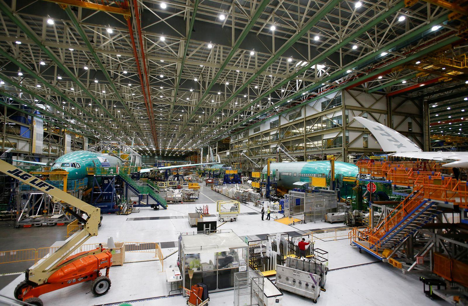 Boeing 777X / Produktion