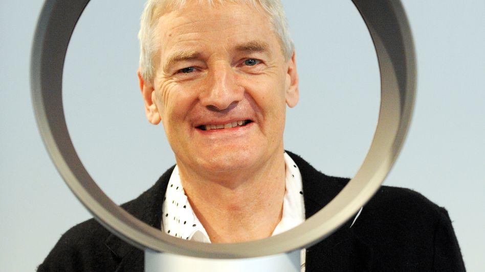 James Dyson: Eigentlich produziert der Gründer des gleichnamigen britischen Unternehmens Staubsauger und Haartrockner