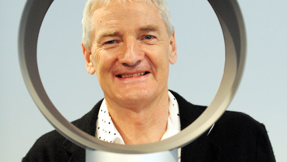Der britische Designer und Ingenieur James Dyson gibt sich bei seinen Elektroauto-Plänen geheimniskrämerisch