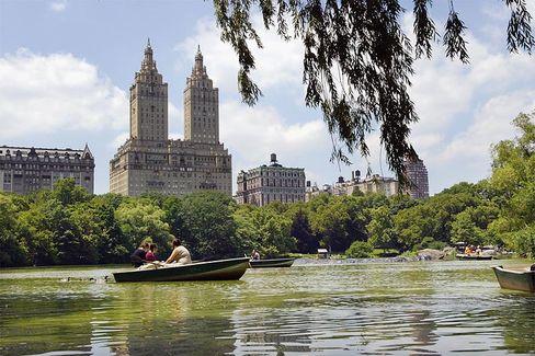 Schön, aber unerschwinglich: Häuserzeile am Central Park