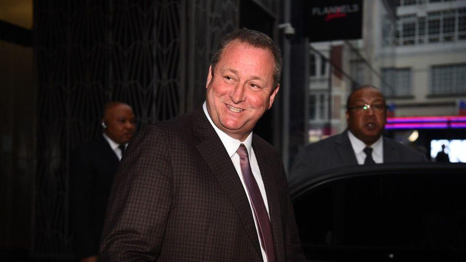 Streitbar: Boss-Investor Mike Ashley