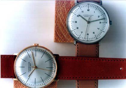 Das Bauhaus lässt grüßen: Junghans legt Max Bills Designer-Uhren aus den 60ern wieder auf