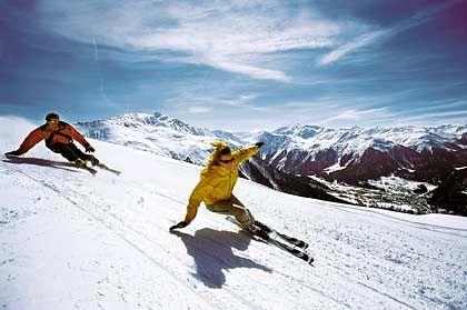 """Wintersport: Die Abfahrten von Davos und Klosters gehören zu den """"skifahrerischen Leckerbissen"""" der Alpen"""