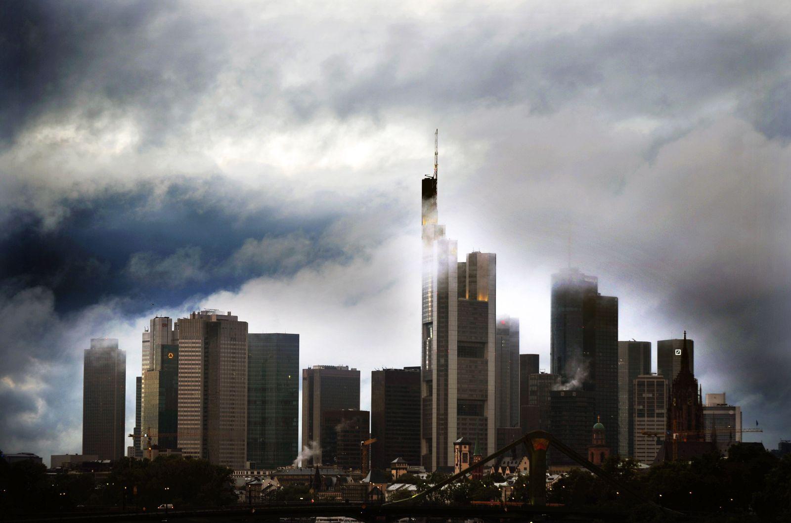 Frankfurt / Skyline / Banken / Banken-Viertel