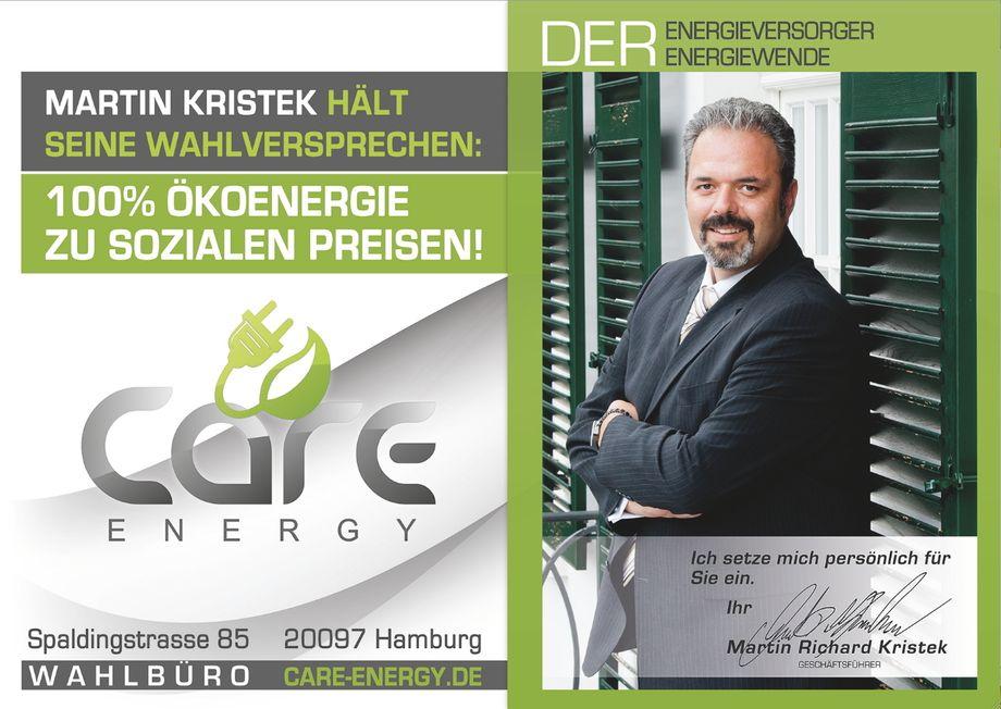 Facebook Care Energy