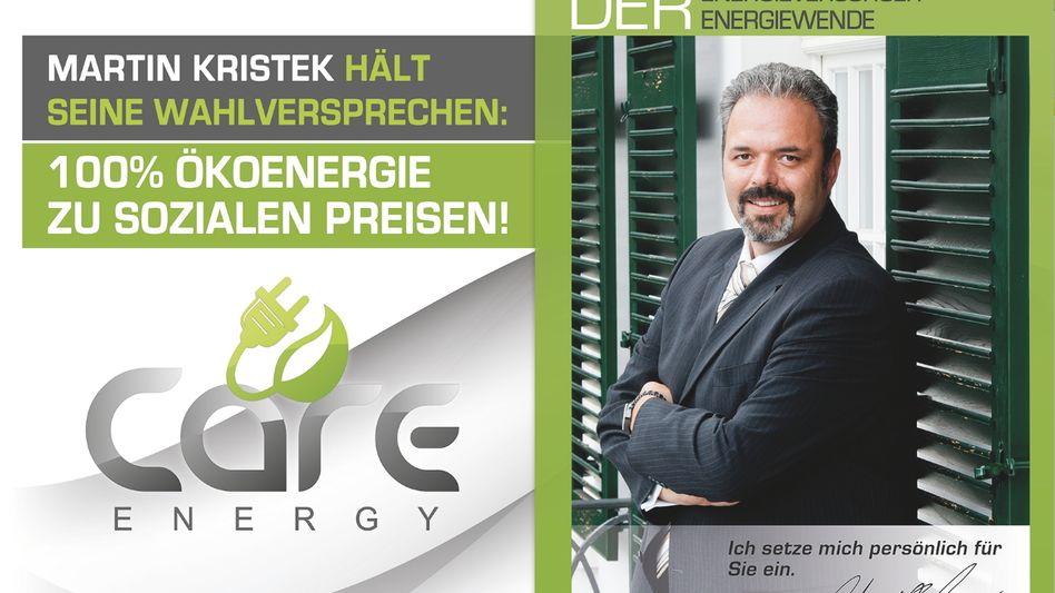 Care-Energy-Werbung (Archiv): Streit um die Zahlung der EEG-Umlage