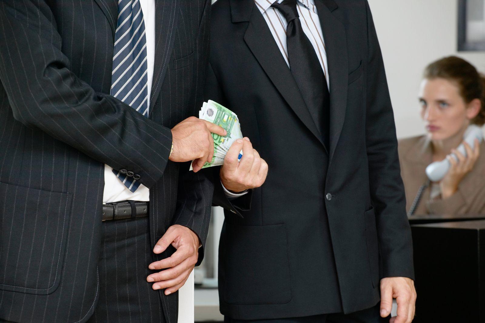 NICHT MEHR VERWENDEN! - Korruption / Bestechung / Schmiergeld