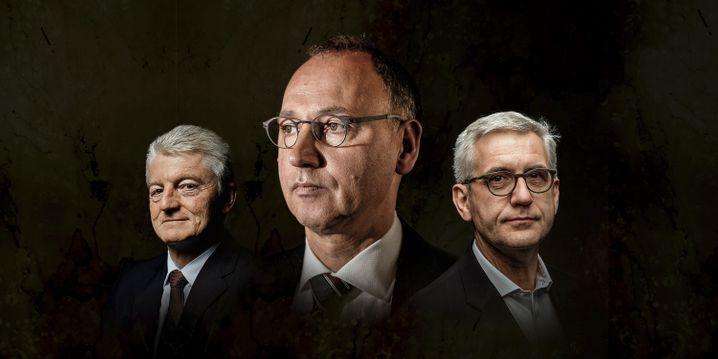 Kontrollverlust: Heinrich Hiesinger, Werner Baumann, Ulrich Spiesshofer