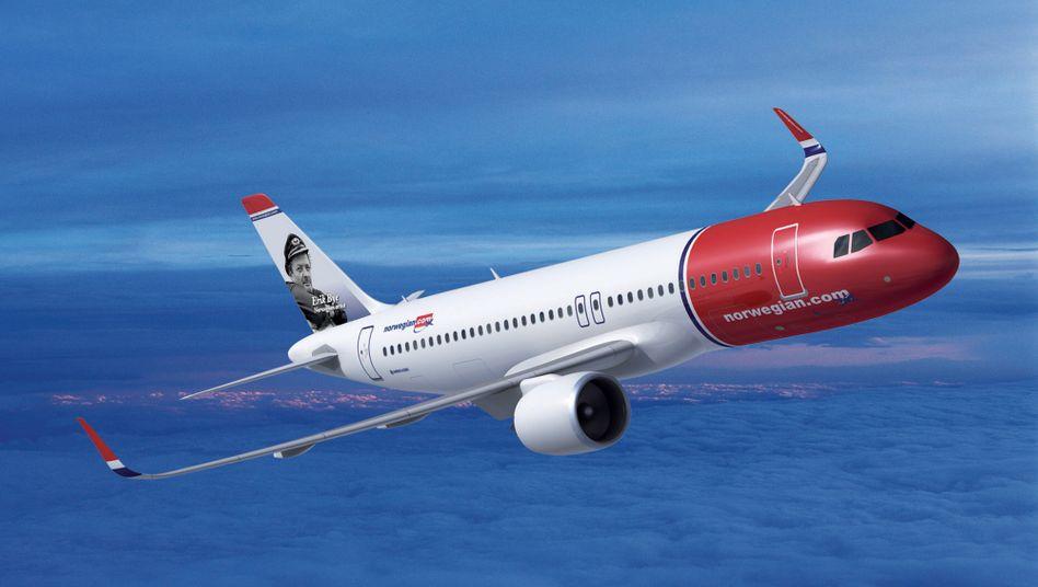Verblasste Vision: Die Norwegian-Flieger vom Typ Airbus A320 neo wurden 2012 als Teil der größten Flugzeugbestellung in Europas Geschichte präsentiert