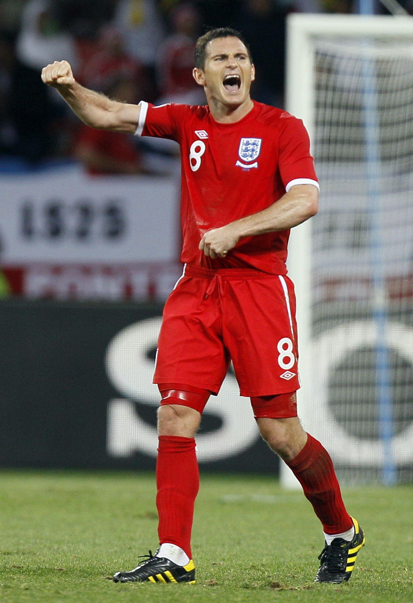 Lampard ballt die faust nach Sieg gegen Slowenien