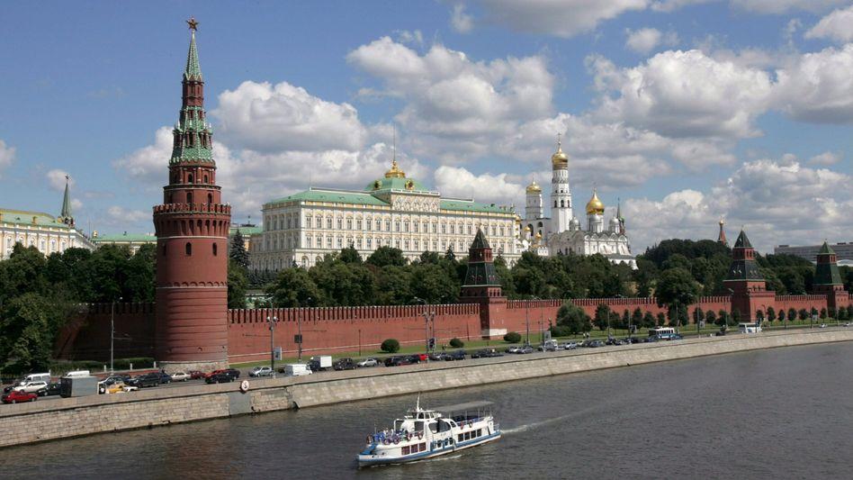 Gegengewicht zum Westen: Der Kreml in Moskau