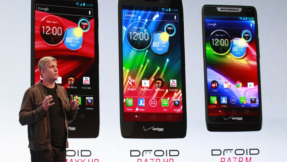 Motorola-Vize Rick Osterloh: Neue Motorola Smartphones präsentiert