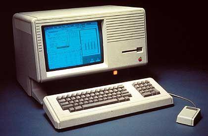 Apple Lisa: Innovative Benutzeroberfläche und leistungsfähige Hardware, aber kaum Käufer, die bereit waren, dafür 30.000 Mark zu bezahlen