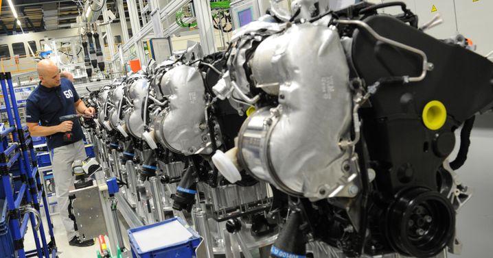 Dieselmotoren-Fertigung von VW in Salzgitter